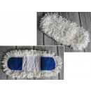 grossiste Nettoyage: Mop corde de rechange plat avec des franges 36x10