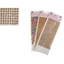 nagyker Ajándékok és papíráruk: Matrica fúvókák, strasszokkal ragasztva 32x11 cm