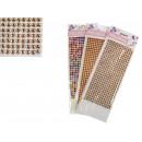Stickers jets, rhinestones glued 32x11 cm