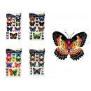 Adesivi farfalle, farfalle 35x29 cm