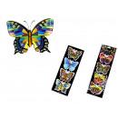 Matricák pillangók, pillangók 42x14 cm