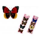 Matricák pillangók, pillangók 43x12 cm