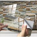 nagyker Faltetoválás: Csempét utánzó falragaszok, 20x10 cm - com