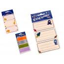 Großhandel Geschenkartikel & Papeterie: Aufkleber für Mix-Notebook
