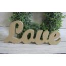 wholesale Decoration: Eco decorative letter 25x10 cm decoupage