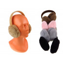 Téli plüss fülvédő 20x15 cm