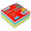 Bloc-notes cube 8,3x8,3x3,5 cm non collé -