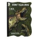 mayorista Material de oficina: Notas dinosaurio con forma de