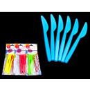 Soc műanyag kések lédús színek - komplexképző