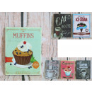 groothandel Food producten: Afbeelding met retro, koffie / koekjes 23,5x17,5 c