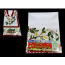 grossiste Linge de table: tissu de Noël mélange 80x80 cm