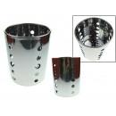 grossiste Coutellerie: Couverts en acier  égouttoir 11,5x14,5 cm