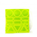 Glare Sticker Art figure geometriche 24