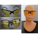 wholesale Working clothes: Protective glasses universal yellow lenses b306y