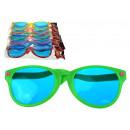 ingrosso Ingrosso Abbigliamento & Accessori: Gli occhiali XXL mescolano il colore 26 cm - 1 pez