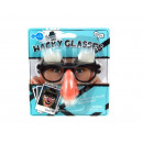 wholesale Glasses: Glasses with eyebrows, nose and mustache to dress