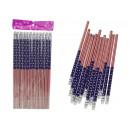 18,5 cm-es rugalmas szalaggal ellátott ceruzák - 1