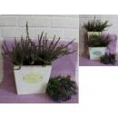 wholesale Flowerpots & Vases: Plastic flower cover Vintage rectangle 20