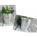 wholesale Cleaning: Cover, bucket, galvanized 12.5x12.5 cm