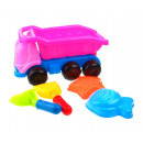 wholesale Outdoor Toys: P sand tipper with accessories 5 element 30x15