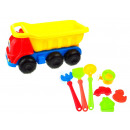 wholesale Outdoor Toys: P sand tipper with accessories 8 element 35x20