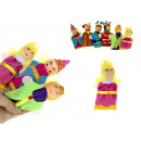 wholesale Toys: 9 cm finger puppets - set of 6 pieces