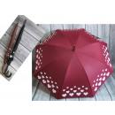 Großhandel Regenschirme: Regenschirm nicht teleskopischen Herz echten Stern