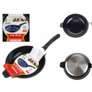 groothandel Potten & pannen: Steel pan  gedrapeerd Wed. 20 cm