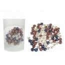 Decoratieve parels kralen mix kleur 80g