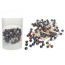 Perle decorative perle mescolano il colore 80g