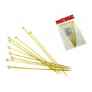 Pr pearl skewers  for dishes and desserts 10 croiss