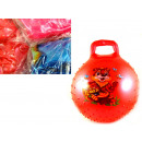 wholesale Balls & Rackets: Jumping ball with handle 45 cm