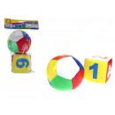Großhandel Bälle & Schläger: Softball und Knöchel 10 cm - 2er Set