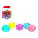 groothandel Sport & Vrije Tijd: Kristallen rubberen bal 3 cm - 1 stuk