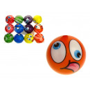 wholesale Balls & Rackets: Ball, foam ball  minka mix color 7.5 cm -