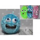 Großhandel Spielwaren: Fellknäuel mit einem Smiley mit hervorstehenden Au