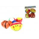 nagyker Labdák és ütők: Puha játékgolyók 7 cm - 4 darab készlet