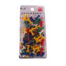 Thumbtacks, pins for corkboard set