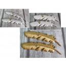 Piume di argilla per appendere 20 cm set di 2 pezz