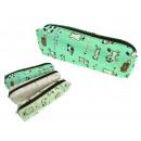 Großhandel Taschen & Reiseartikel: Kosmetik Mäppchen,  ein Beutel 18x5x3,5 cm Katze