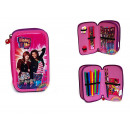 wholesale School Supplies: Pencil case with  two-compartment shake it up