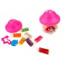 nagyker Ajándékok és papíráruk: Műanyag 7 szín + kiegészítők gomba 10x8 cm
