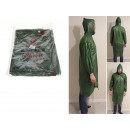wholesale Coats & Jackets: Heavy raincoat, thick, green, universal