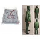 Großhandel Hosen:Regenmantel + grüne Hose
