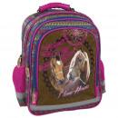 Großhandel Taschen & Reiseartikel:Rucksack 15 b Pferde 16