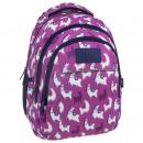Backup hátizsák sötét rózsaszín, lama 2 modell h03