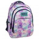groothandel Tassen & reisartikelen: Rugzak back-up pastelkleuren, unicorn 2 model