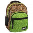 Großhandel Taschen & Reiseartikel: Ersatzrucksack braun-grün, Grafik 2 Modell m