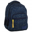 Großhandel Taschen & Reiseartikel: Ersatzrucksack blau mit gelben Punkten 2 Modell m4