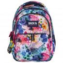 Großhandel Taschen & Reiseartikel:Rucksackunterstützun g farbintensiv, 2 Modellblumen